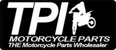 TPI Motorcycle Parts Sticky Logo Retina