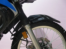 KLR 650 LOW MOUNT FENDER KIT, UP TO 07