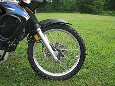 KLR 650 MEDIMUM MOUNT FENDER KIT, 08-UP
