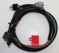 KLR 650 SINGLE RELAY HEADLIGHT HARNESS, UP TO 07