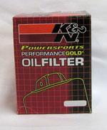 KLR 650 K&N OIL FILTER