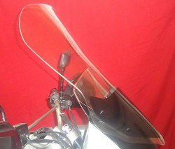 KLR 650 TPI CLEAR VIEW WINDSHIELD, TALL, 08-UP