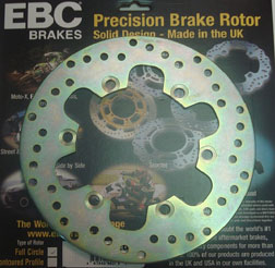 KLR 650 EBC REAR ROTOR, UP TO 07