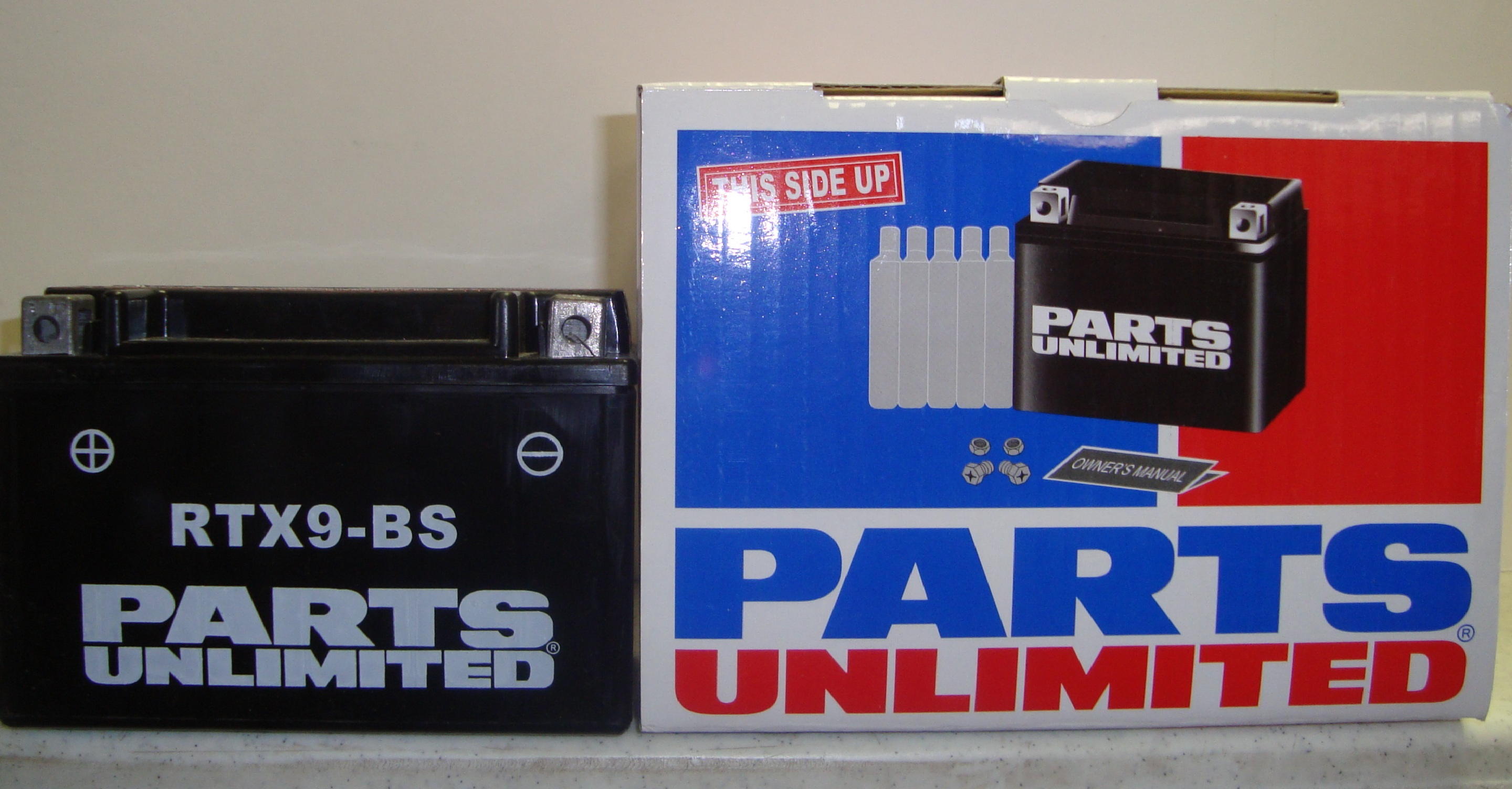 DR 650 PARTS UNLIMITED AGM BATTERY, 96-UP