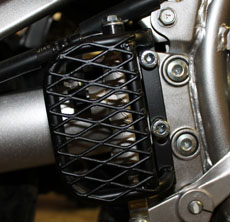 KLR 650 CAGED MASTERCYLINDER GUARD, UP TO 07