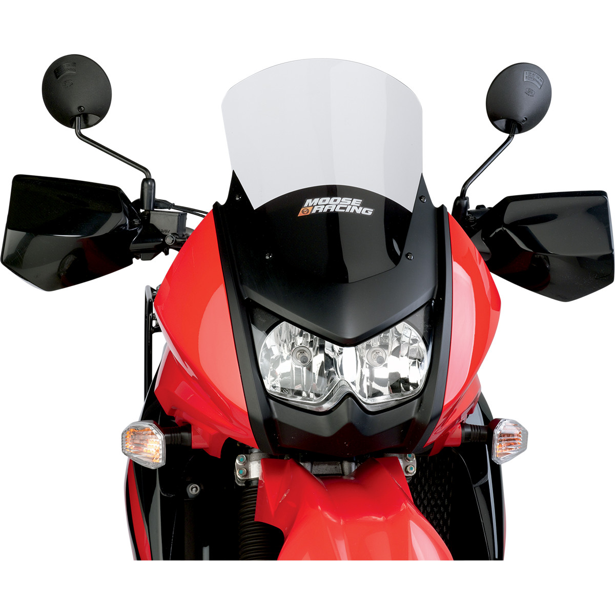 KLR 650 ADVENTURE WINDSHIELD, 4'' OVER, 08-UP