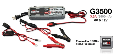 GENIUS 3500 BATTERY CHARGER
