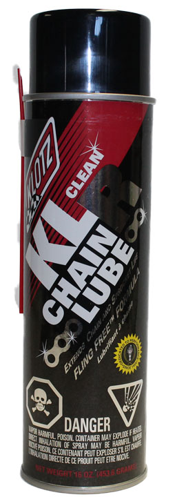 KLR CHAIN LUBE, 16oz