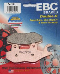 KLR 650 EBC FRONT BRAKE PADS, 08-UP