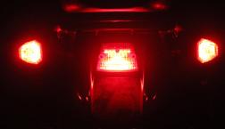 KLR 650, DR 650 MAGIC MODULE KIT W/1156 RED BULBS